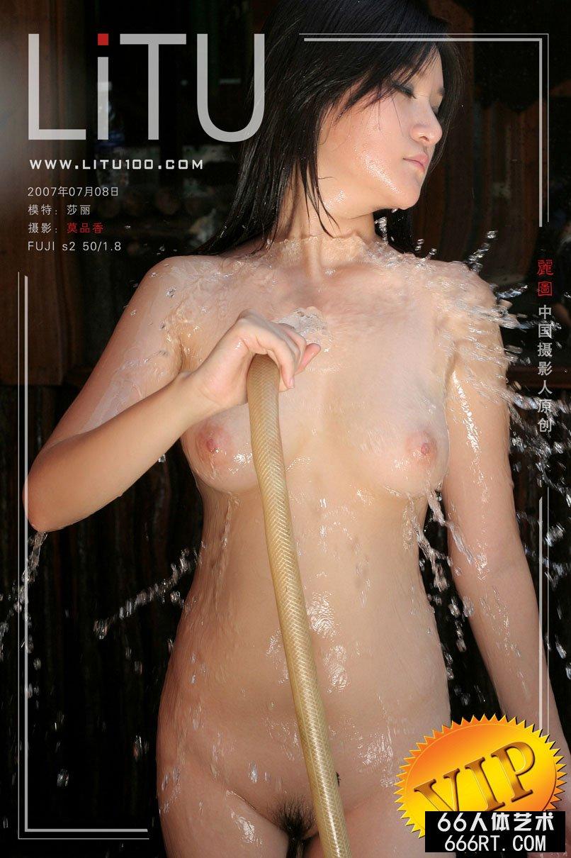 美胸裸模莎莉07年7月8日外拍