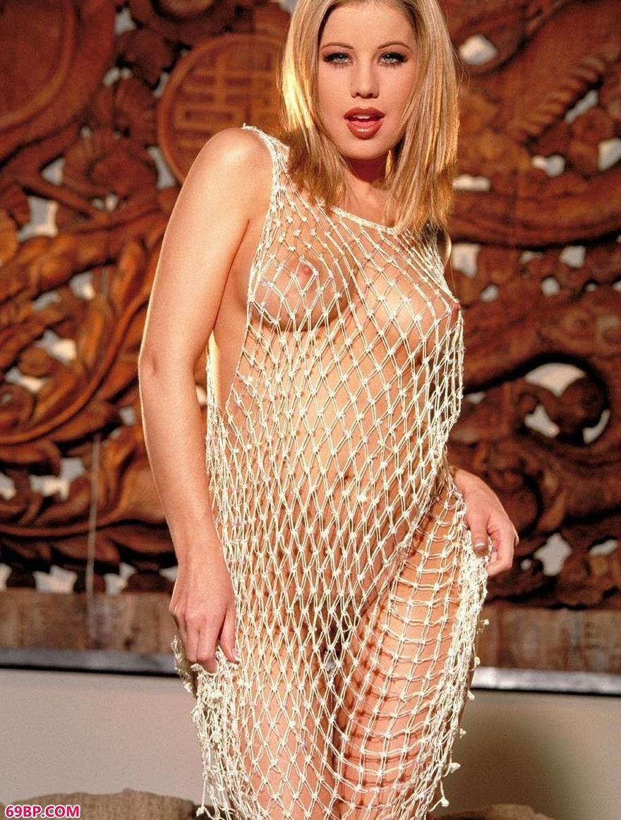 裸模Ashley房间里的贵族美体