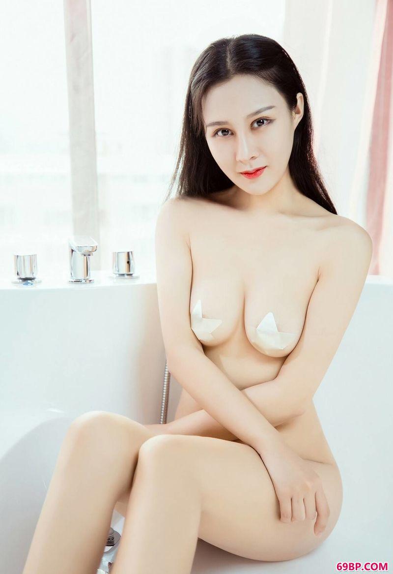 模特紫怡纯美艺术人体摄影